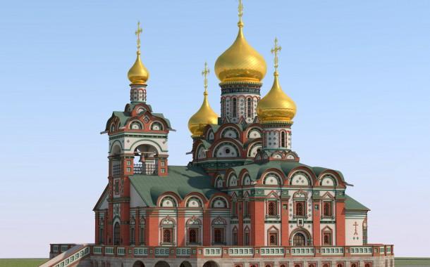 Проект храмового комплекса в честь святых Жен-Мироносиц