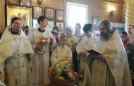 Преображение Господне в храме святых Жен-Мироносиц