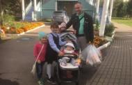 Семьи прихода храма святых Жен-Мироносиц получили продуктовую помощь