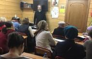 На занятиях в Воскресной школе для взрослых