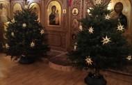 Огромная благодарность всем, кто принимал участие в украшении храма к празднику Рождества Христова!
