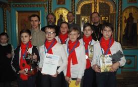 Поздравляем учеников Воскресной школы