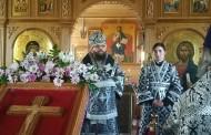 Архиепископ Егорьевский Матфей совершил Литургию Преждеосвященных Даров
