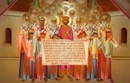 Неделя 7-я по Пятидесятнице. Память святых отцов шести Вселенсикх Соборов