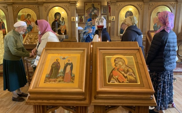 Мчч. Адриана и Наталии. Сретение Владимирской иконы Пресвятой Богородицы
