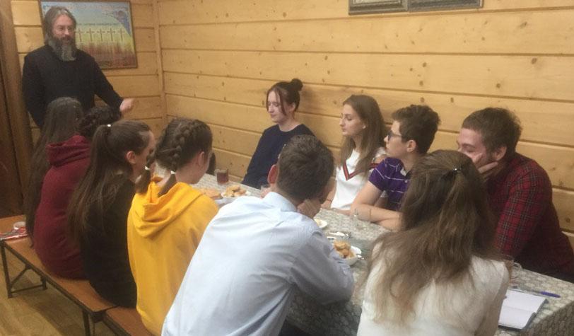 Первая встреча молодежи в клубе
