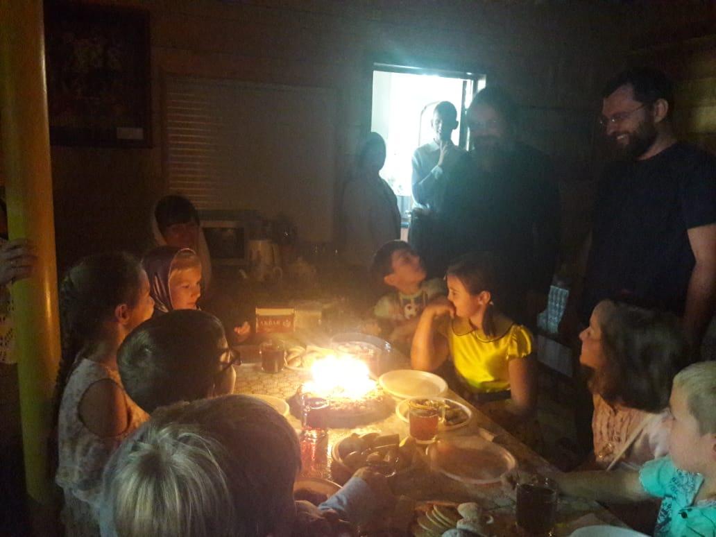 День рождения в нашем храме
