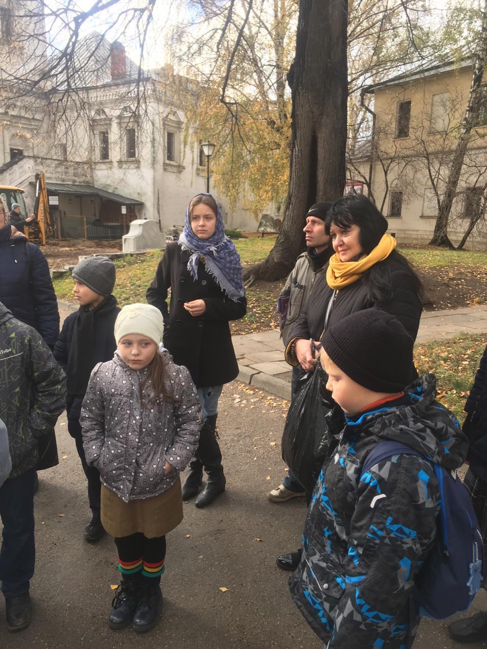 В музее древнерусской культуры и искусства имени Андрея Рублева