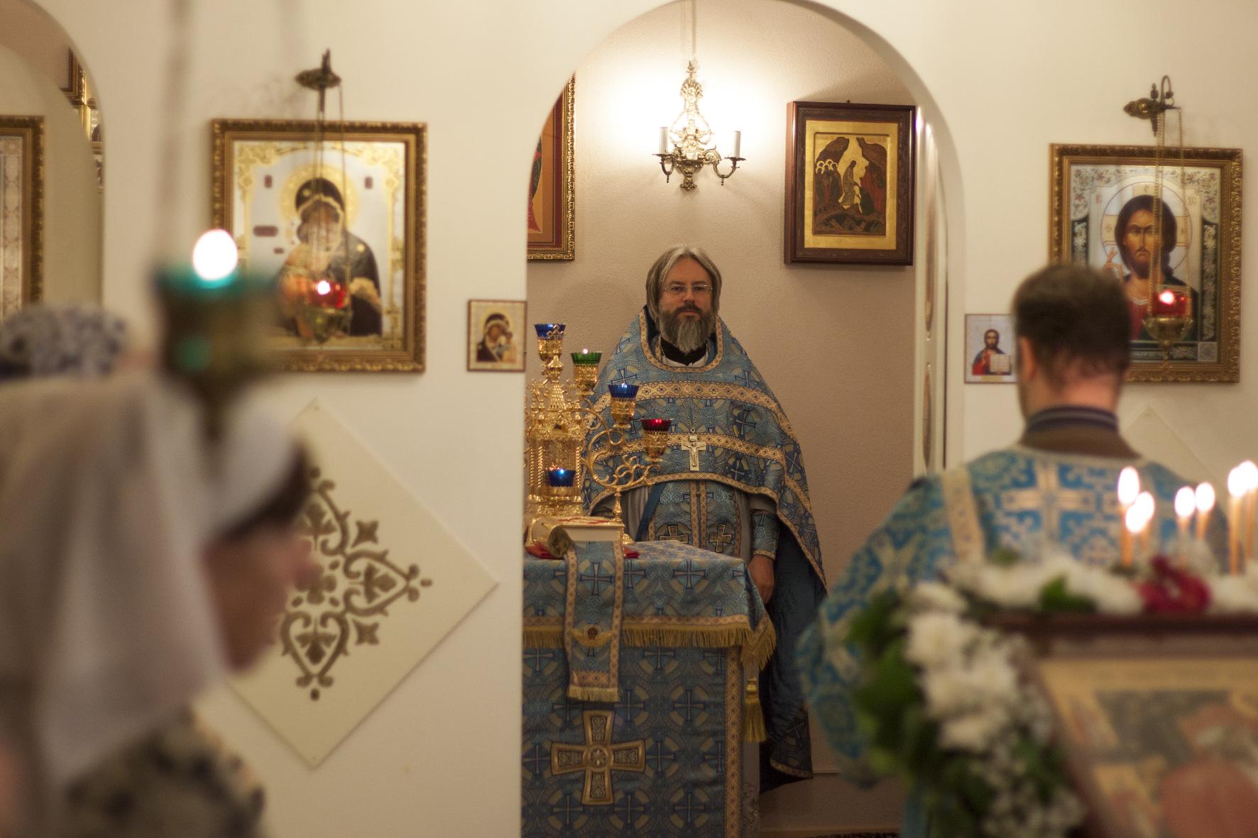 В Международный день пожилых людей в домовом храме Социального жилого дома в Марьино