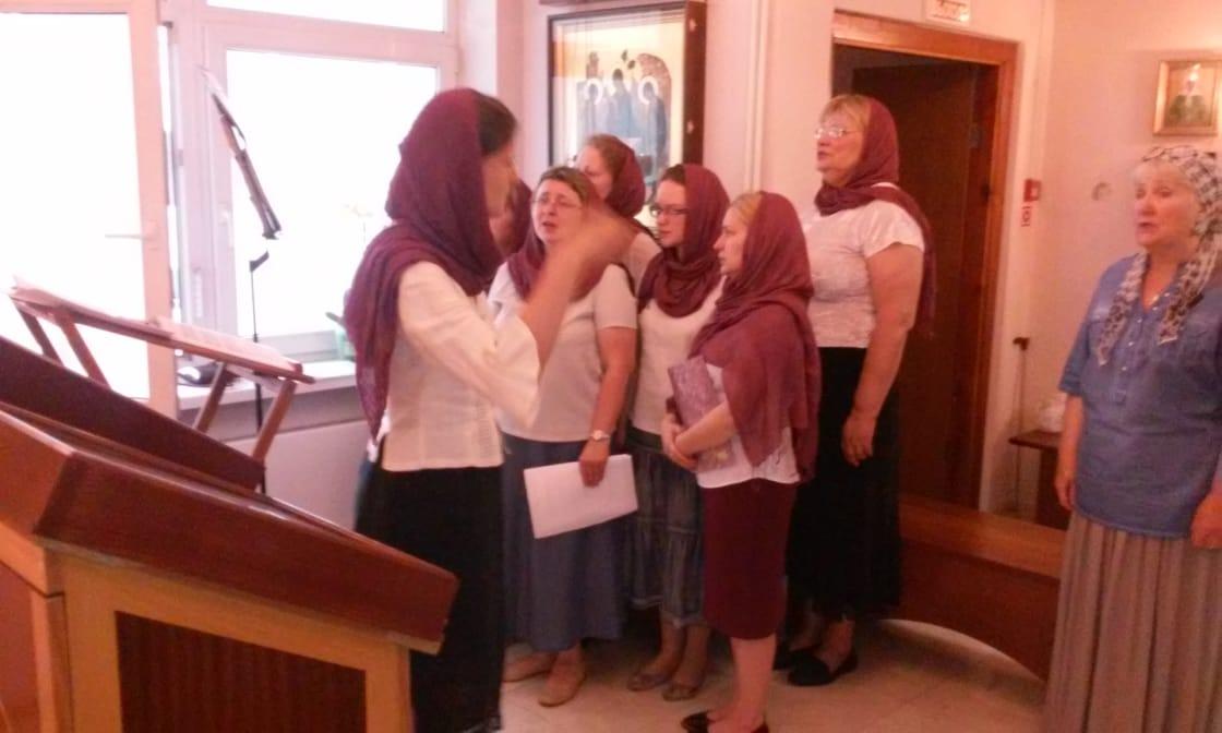 Занятия в хоре