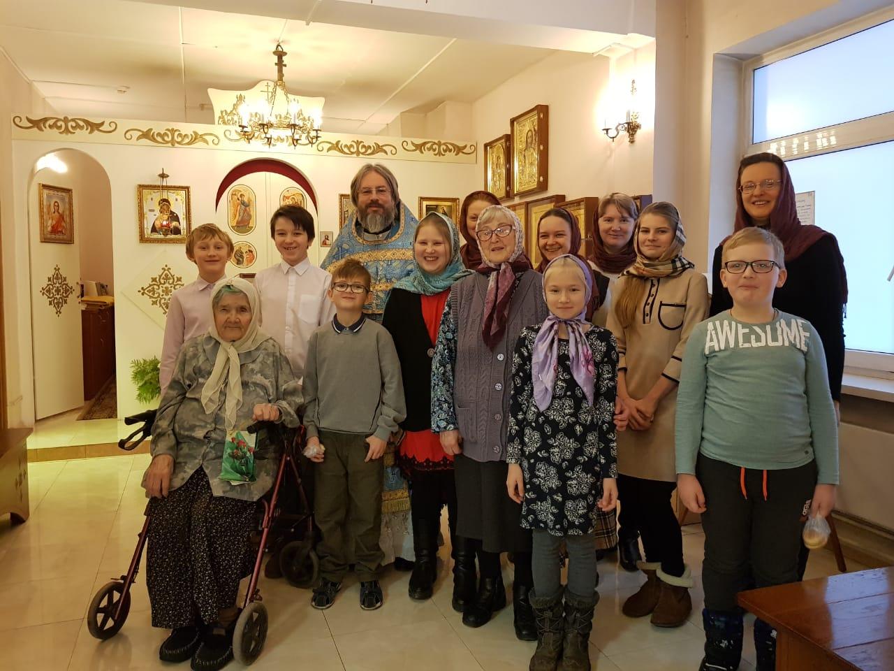 Литургия в Социальном жилом доме «Марьино»