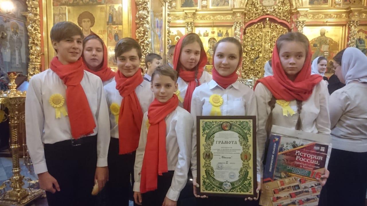 Поздравляем команду храма святых Жен-Мироносиц