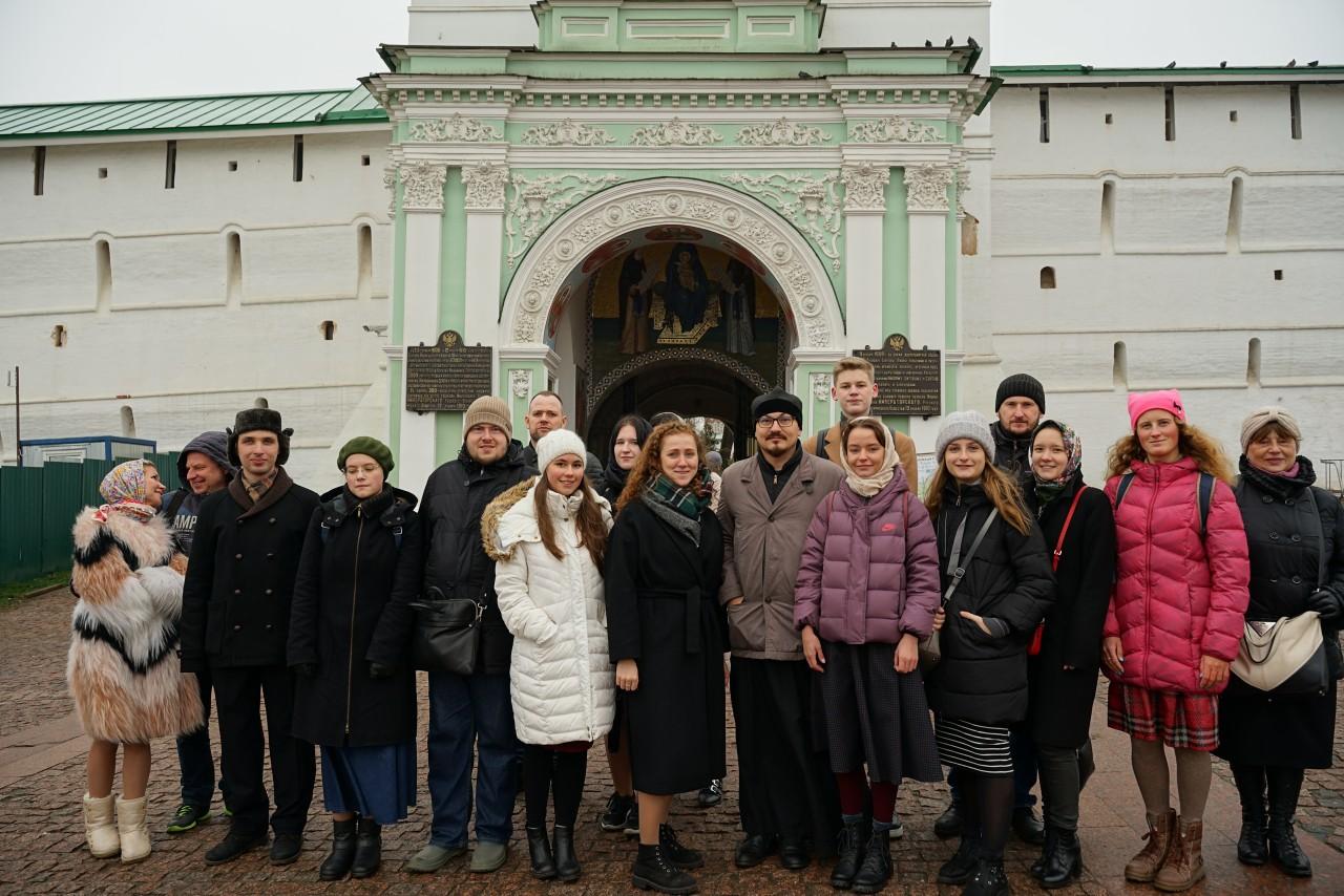 Поездка в Сергиев Посад к прп. Сергию Радонежскому.