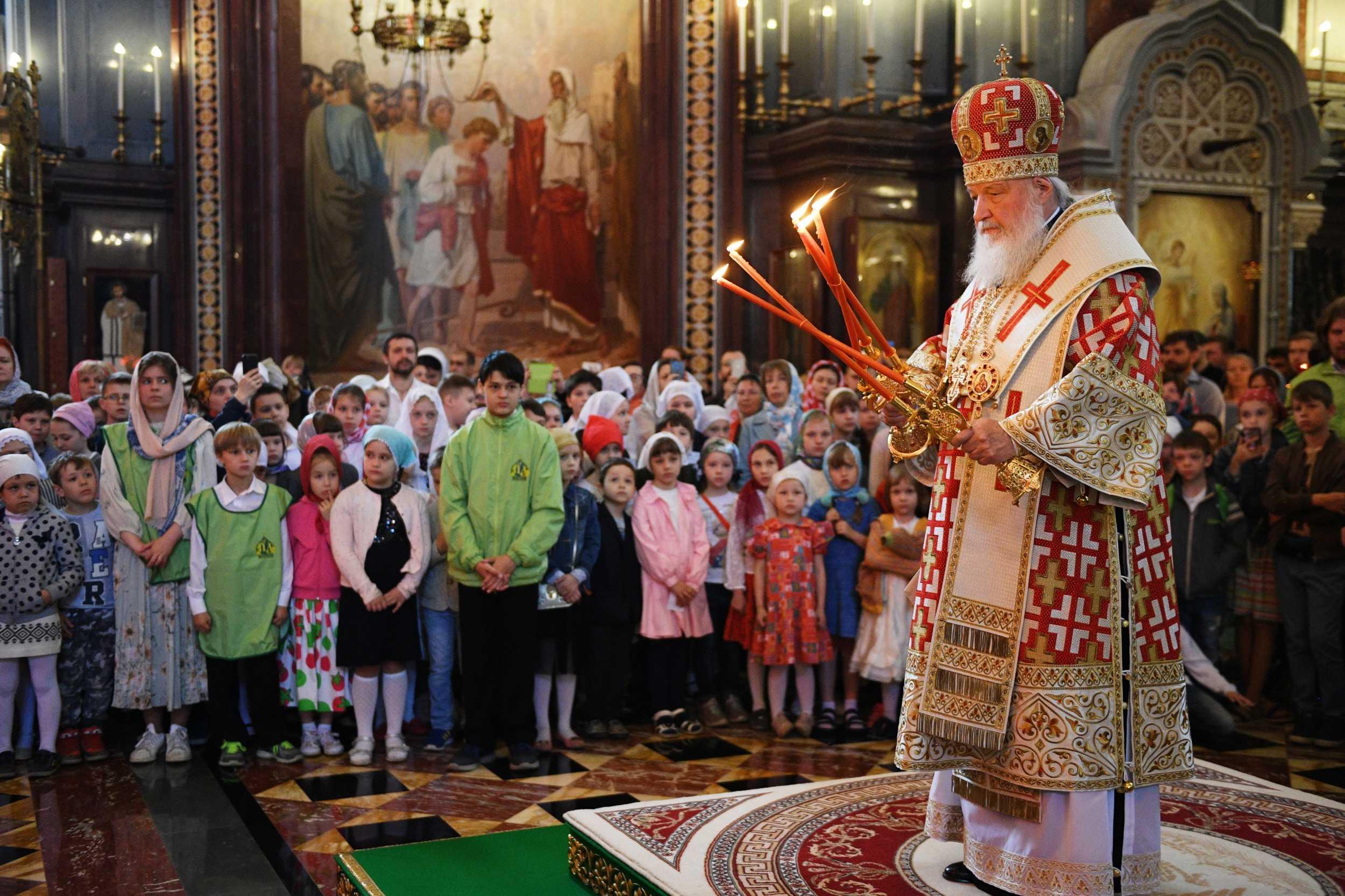 Приглашаем на Божественную литургию для детей в ХХС