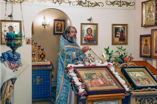 Престольный Праздникв честь Иконы Божьей Матери