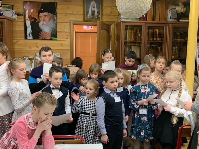Конкурс чтецов в Воскресной школе