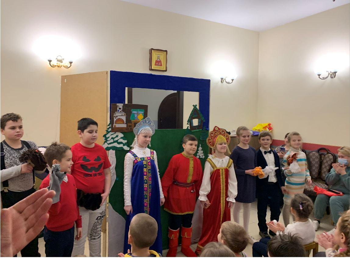 В гостях у ребят из Воскресной школы приХрамесвятой мученицыТатианыРимской